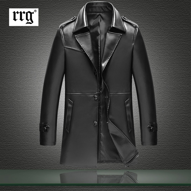 Men's Leather Jackets 2016 Autumn Winter Soft Pu Leather Jackets Imitation Sheepskin Coat For Men Leather Clothing Big Size 4xl