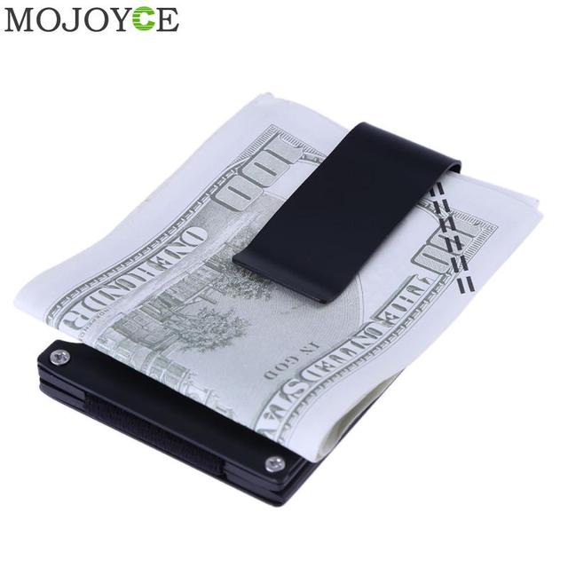 Mini money clip fashion credit card id holder with anti chief case mini money clip fashion credit card id holder with anti chief case protector slim wallet colourmoves