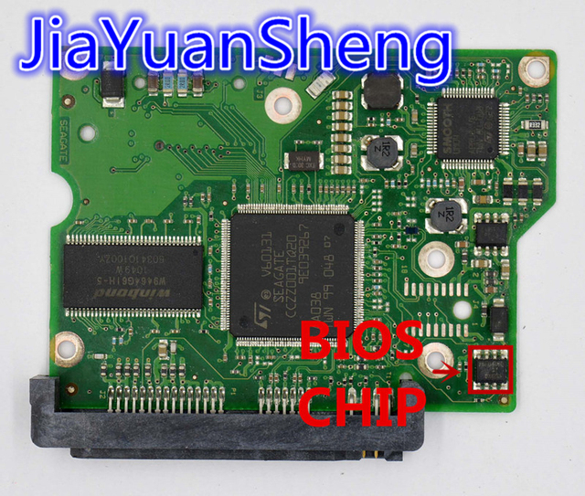 HDD PCB / Jia Yuan Sheng Logic Board / 100532367 REV A , 100532367 ...