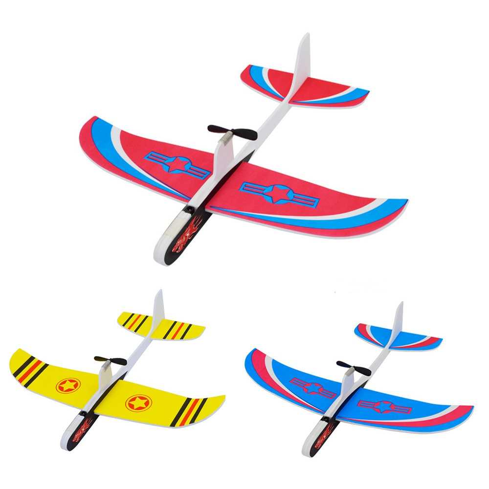 online store 7dfea b046a 2019 DIY Hand Throw Flying Glider Planes Toys For Children Foam Aeroplane  Model Party Bag Fillers