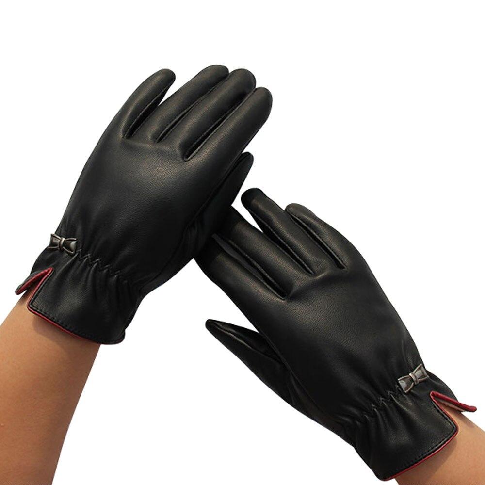 Gant mens leather gloves - Gant Black