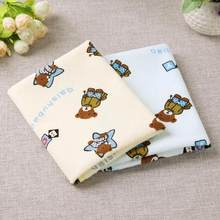 2pcs Baby Waterproof Pads Diapers Mattress Reusable Changing Covers Mat Children Game Floor Mats Folding Baby Diaper 40x50cm New(China)