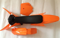 2002 2008 KTM50 KTM SX 50 Orange PLASTIC 3M GRAPHIC DECAL STICKER TANK SEAT For Motorcycle