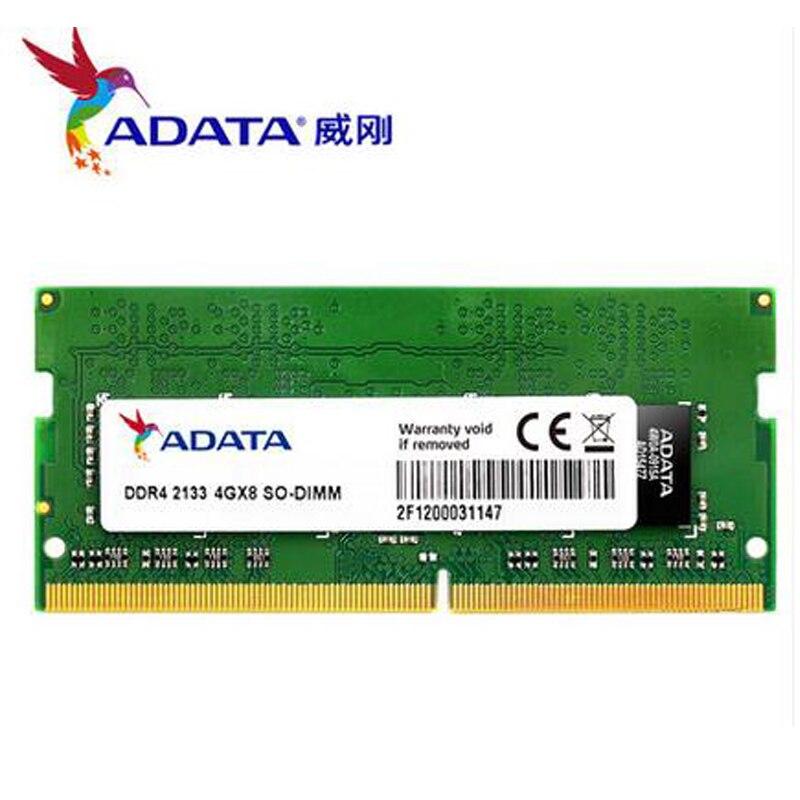 1.2 V 4 GB 8 GB DDR4 2400 Mhz 2133 Mhz ordinateur portable DIMM mémoire de jeu à vie RAMs 260 broches ordinateur portable RAMs ddr 4 SO-DIMM nouveau