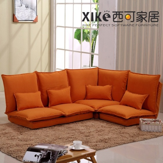 West Can Home Sofa Fabric Futon Creative Lazy Leisure Floor Minimalist In Hotel Sofas From Furniture On Aliexpress Com Alibaba Group