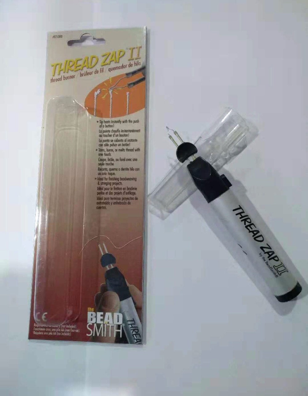 Thread-Burner Jewelry-Tools Bead Welding-Wax-Pen Zap-Ii Smith-Thread for Crayons