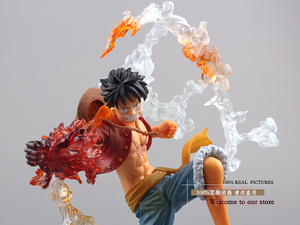 """Image 5 - Free Shipping 7"""" One Piece Monkey D Luffy Battle Ver.  Boxed PVC Action Figure Collection Model Toy Gift OPFG228"""