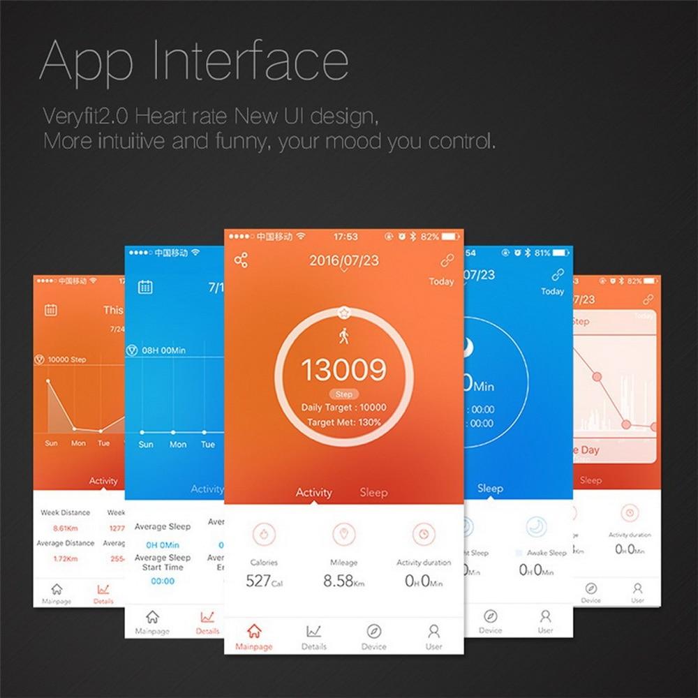 Esportes Relógio Vibração para IOS Android