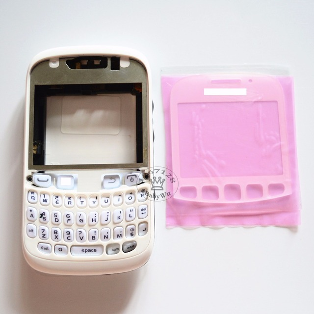 1Set For BlackBerry Curve 9320 9315 New Full Complete Mobile Phone Housing Cover Case+Keypad(No joystick)