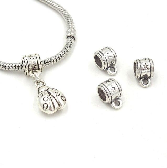 e4c171865746 Jewelry Connectors 10 7mm Conectores Bisuteria Parts For Jewelry  Schmuckzubehor Pendant Clasp Componentes Joyeria 50Pcs Lot