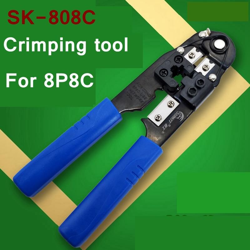 ReadStar SUNKIT SK-808C RJ45 8P8C Cable crimper Crimping tool 8p6c 8p4c 8p2c Plug Networking cable crimping pliers