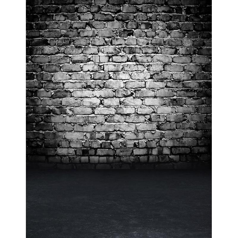 Custom vinyl cloth print 3 D dark brick wall photo studio backgrounds for photography photographic backdrops props S-2579 10ft photography backdrops vinyl cloth print study room photo studio backgrounds for photographic props cm 4817