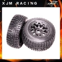 Rear Wheel Tyre X 2pcs assembly for 1 5 hpi rovan km baja 5sc rc