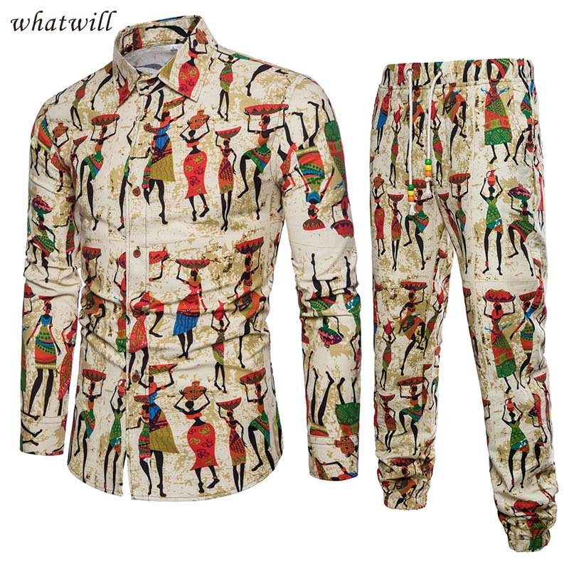 New African Clothes Set Fashion Africa Clothing Fitness Tracksuit Hip Hop Robe Africaine Casual African Dresses For Women/men