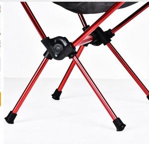 Image 4 - 휴대용 접이식 문 의자 낚시 캠핑 바베큐 의자 접는 확장 하이킹 좌석 정원 초경량 사무실 홈 가구