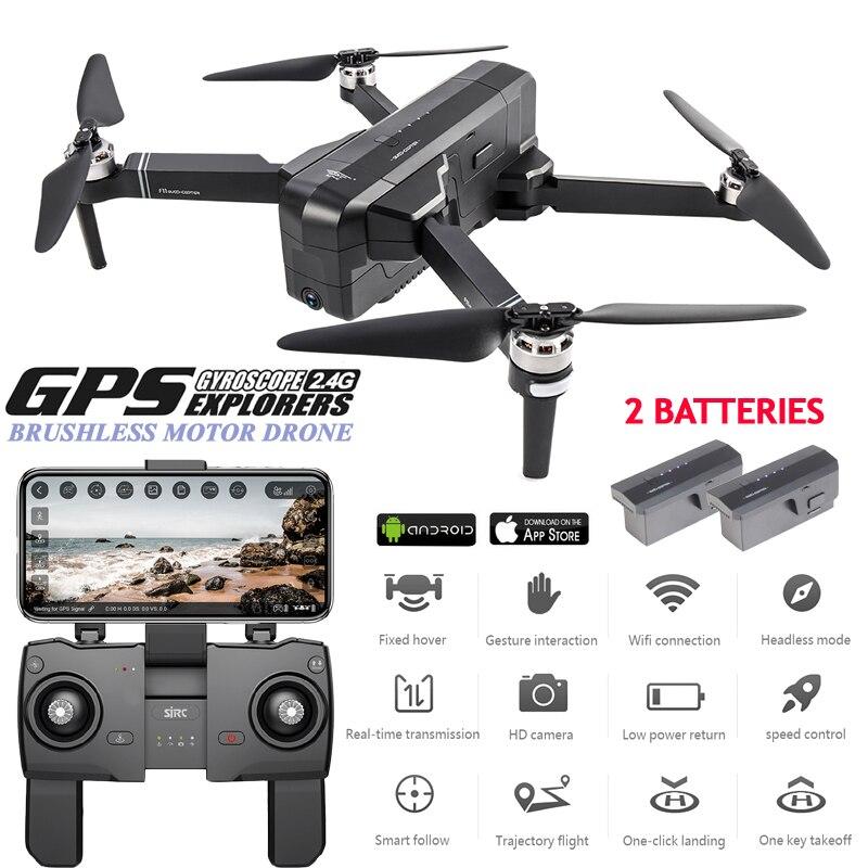 SJRC F11 5G Wi-fi Zangão GPS Profissional Brushless RC Dron 25 minutos de Tempo de Vôo 1080P FPV Zangão Selfie quadcopter Com Câmera HD