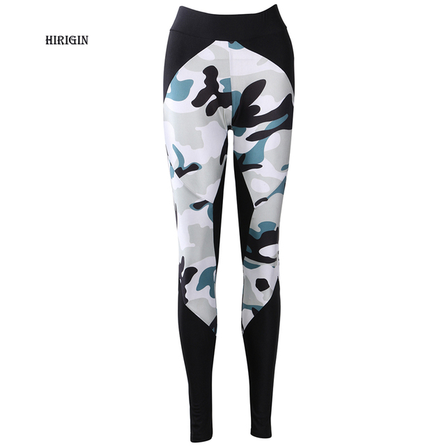 a027cf5b9a HIRIGIN 2017 Women's Camouflage Leggings Workout Leggings Fitness Sportswear  Trouser High Waist Pants Compression Pants