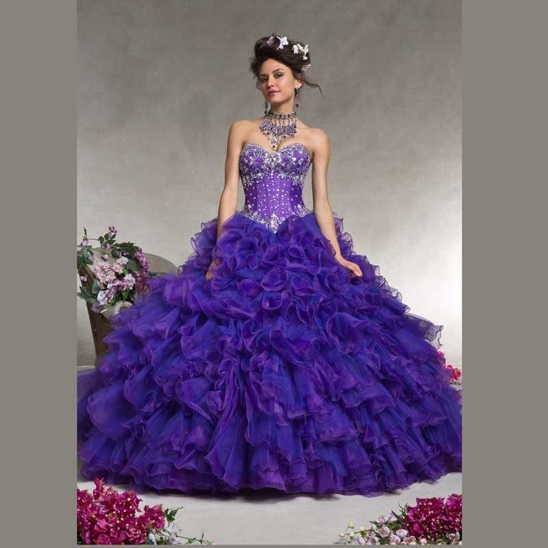 Online Get Cheap Dark Purple Quinceanera Dresses -Aliexpress.com ...