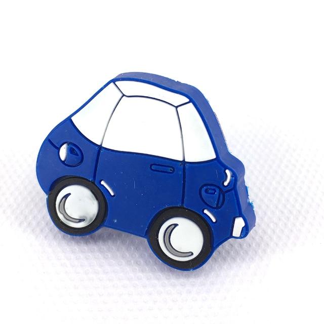 Niedlichen Cartoon Blau Auto Weichen Gummi Kinderzimmer Schrank ...