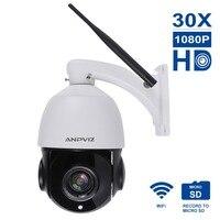 Anpviz 1080 P 30X HD Wifi Камера мини cam купольные IP Камера Масштабирование videcam наблюдения веб Road аварийная система видеонаблюдения веб камера