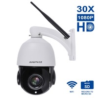 Anpviz 1080 P 30X HD Wifi камера мини камера купольная ip камера Zooming videcam наблюдение веб камера дорожная сигнализация Система видеонаблюдения веб каме