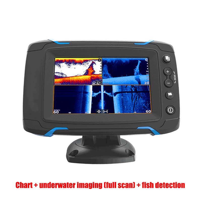 GPS & Accessories Chart Side Scan Full Scan Sonar Fish Detector Touch Screen Fish Finder GPS Navigation Marine GPS Display 8