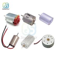 DC 1.5V 3V Mini Micro DC Motor for DIY Toys Hobbies Smart Car Motor 130 180 300 370 380 610 612 614 716 720 Hobby Gear Toy Motor