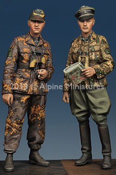 1 35 Kurt Meyer Officer Set 2 Figures