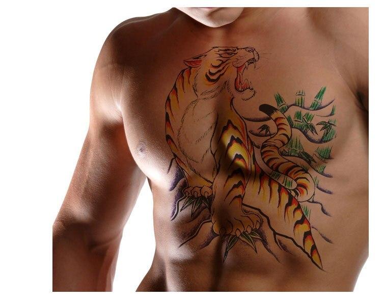 Kühlschrank Tattoo : Tiger kostenloser versand tattoo paste körper gemalt tattoos