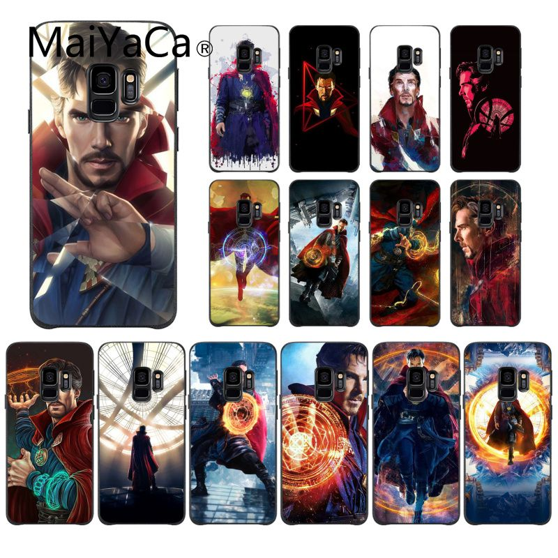 Phone Bags & Cases Cellphones & Telecommunications Maiyaca Doctor Strange Marvel Black Tpu Soft Silicone Phone Case For Samsung Galaxy Note9 Note2 Note3 Note4 Note5 Note7 Note8 Relieving Heat And Sunstroke
