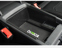 Fit For Skoda Kodiaq 2016 2017 Central Armrest Container Holder Tray Storage Box Car Organizer Auto