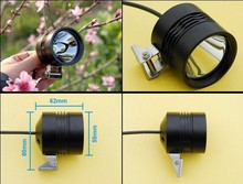 Free shipping 1*U2 12W 900lumens waterproof led off road lights