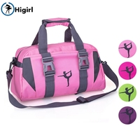 Women Purple Yoga Sports Dance Bag Girls Pink Gym Dancing Bag For Fitness Adult Big Waterproof