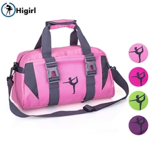 Women Purple Yoga Sports Dance Bag Girls Pink Gym Dancing For Fitness Adult Big Waterproof