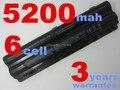 Batería del ordenador portátil para dell xps 14 15 17/17 3d 14d 15d 17d l401x l501x l701x l702x l701x 3d j70w7 312-112,3312-1127