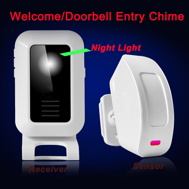 Great Promotion Wireless Door Chime For Houseshopfactorycompany