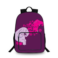 BAOBEIKU New Owl Elephant 3D Backpacks Fashion Animals Travel Women Men Bags For Children School Bags