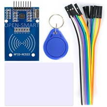 OPEN-SMART RC522 RFID Card Reader Module Kit with 8P Cable for Arduino with S50 Card / Keychain