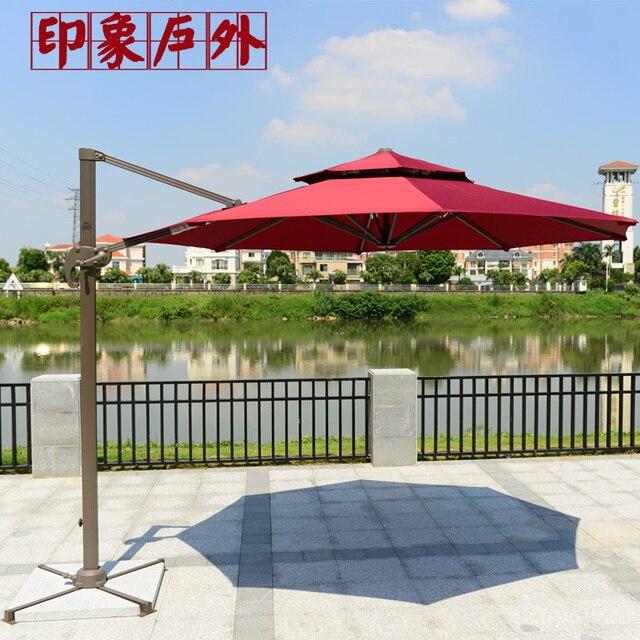 Outdoor Patio Umbrellas Sun Umbrella Advertising 3 Meters Large Shed Custom  Beach Booth