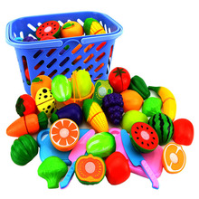 8 Pcs/Set Pretend Play Plastic Fruit Vegetable Cutting Food Toy Kitchen Food Pretend Play For Children new pretend play plastic food toy cutting fruit vegetable food pretend play kitchen food toy children for children birthday gift