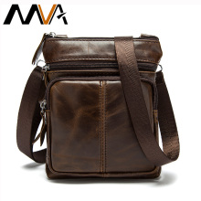 Mva man crossbody coin genuine design male messenger small purse vintage