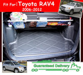 ACCESSORIES FIT FOR 2006 2007 2008-2012 TOYOTA RAV4 5 SEATER REAR TRUNK TRAY BOOT LINER CARGO FLOOR MAT