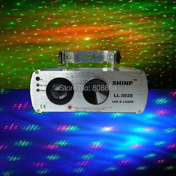 R&G Laser Pattern Projector RGB LED Dream Water Galaxy Effect DJ Dance Bar Xmas Party Disco Lighting PR. Stage Light Show s4