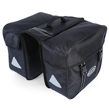 New Bicycle Rear Seat Trunk Bag Waterproof Big Huge Capacity 25L/pcs Bike Saddle Panniers for Cycling Touring Commuter