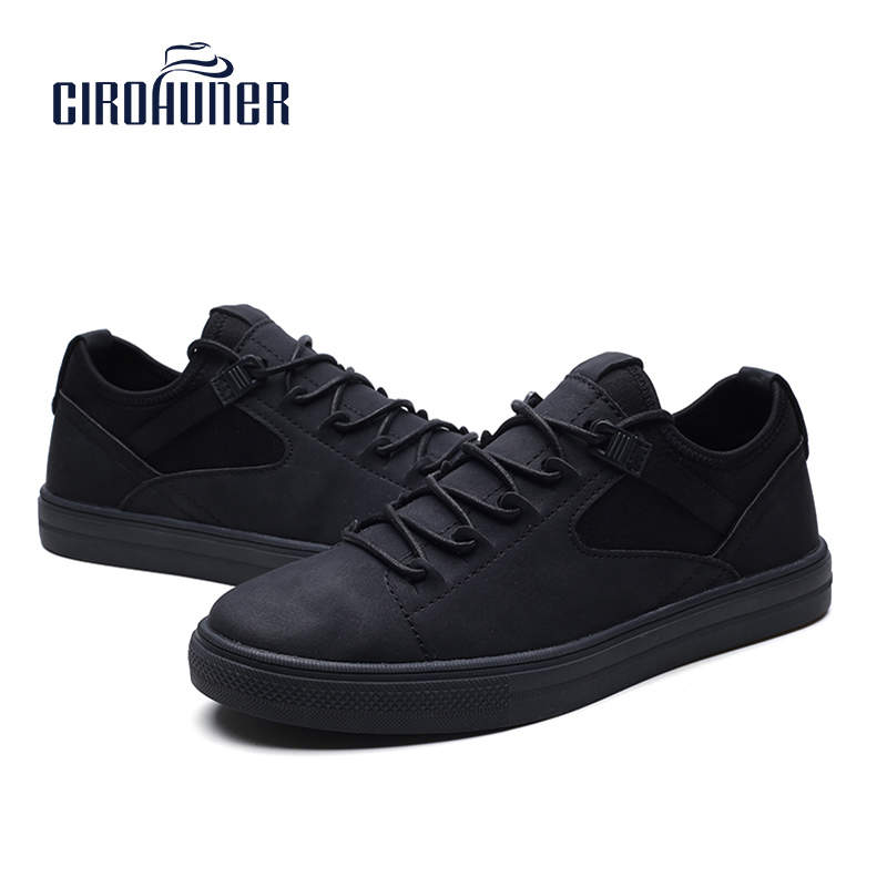 Ciorhuner Men Flats Leather Casual Shoe Wedding Shoes Mens Loafers Sneakers Lace Up Breathable Sneaker In S From On