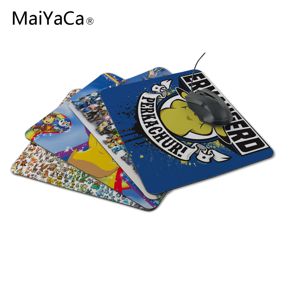 MaiYaCa Luxury Printing Yellow Small Animal Style Design Game Gaming Durable PC Anti-slip Mouse Mat for Optical/Trackball Mouse