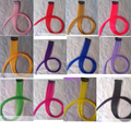 60 См 16 Цвет Расширение Синтетические Волосы Длинные Прямые Ролик В Наращивание Волос Жаропрочных Красочные Парики