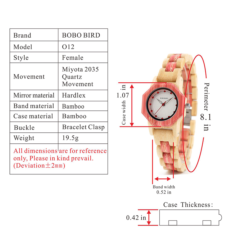 Watch Wood Wristwatches with Wooden Band Female Watches Lady Quartz Watch relogio feminino (64)