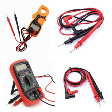 Multimeter Probe 2Pcs/1Set 1000V 10A Clamp Multi Meter Test Lead Kits Digital Multimeter Cable for Multimeter Clamp lodestar digital multimeter test lead black red 2 pcs