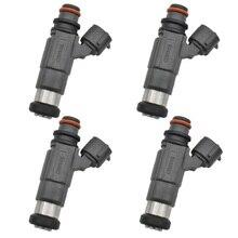 Boquilla de inyector de combustible CDH166 INP770 1571066D00 para Mitsubishi, Suzuki, Vitara, 1,6l, 15710 66D00, 4 unids/lote